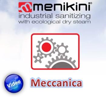 video dimostrativo applicazione vapore saturo secco settore meccanico menikini dry steam